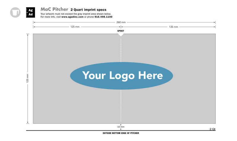 Online templates make adding your logo easy
